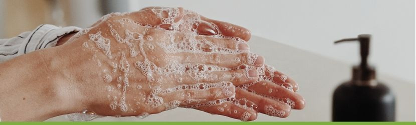 hand washing article