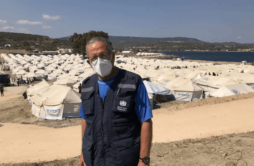Humanitarian Aid in Fire Ravaged Lesbos 1